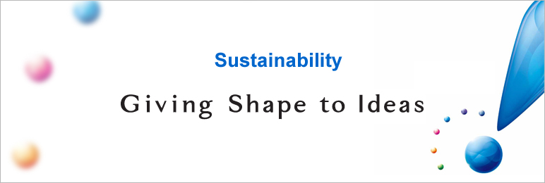 Sustainability Giving Shape to Ideas