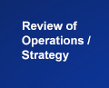 Review of Operations / Strategy