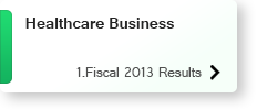 Healthcare Business 1.Fiscal 2013 Results