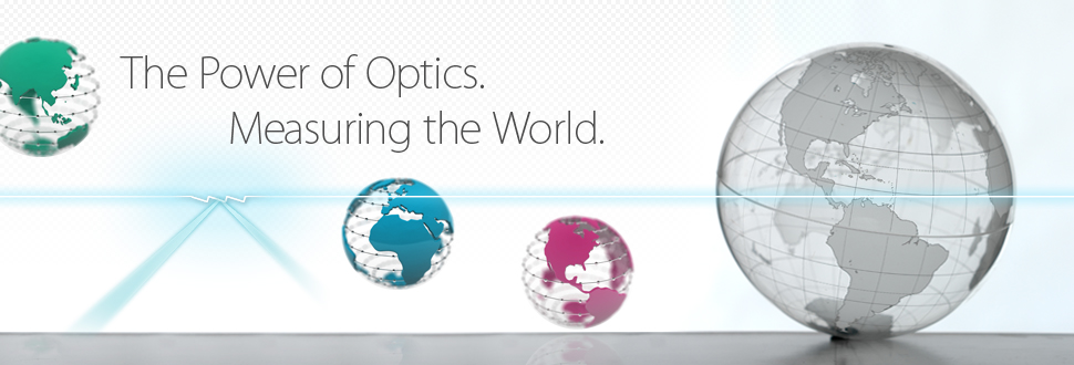 The Power of Optics. Measuring the World.