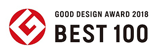 「GOOD DESIGN AWARD 2018 BSST 100」ロゴ画像