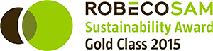 RobecoSAM Sustainabilit Award Gold Class 2015
