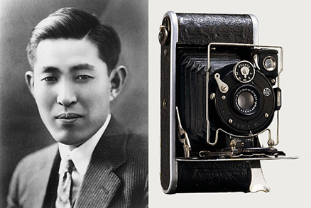Kazuo Tashima establishes Nichi-Doku Shashinki Shoten (Japan-Germany Camera Company, later known as Minolta Co., Ltd.) to produce cameras in Japan, and launches its first camera product, Nifcalette, the following year