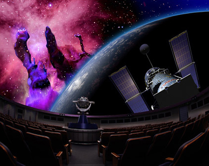 "Konica Minolta opens its own planetarium, Sunshine Starlight Dome ""Manten"""
