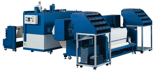 Nassenger V, next-generation inkjet textile printer, is launched