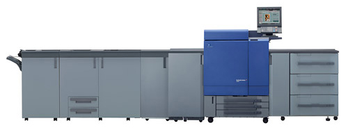 bizhub PRESS C8000, digital printing system, is launched