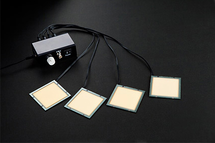 The world's first Organic Light Emitting Diode (OLED) lighting panels using only phosphorescent materials are released