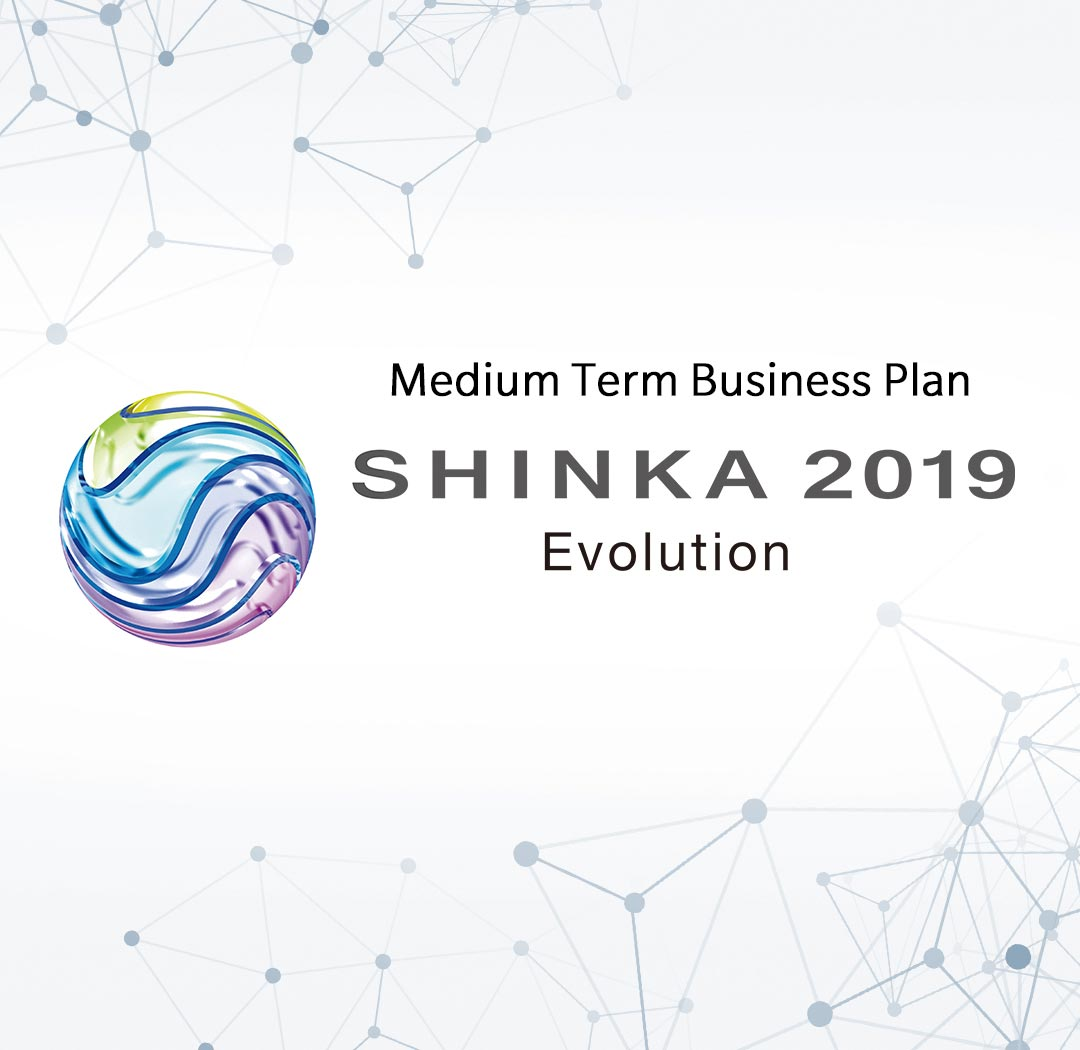 Medium Term Business Plan SHINKA 2019 Evolution