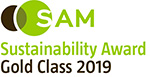 ROBECOSAM Sustainability Award Gold Class 2018