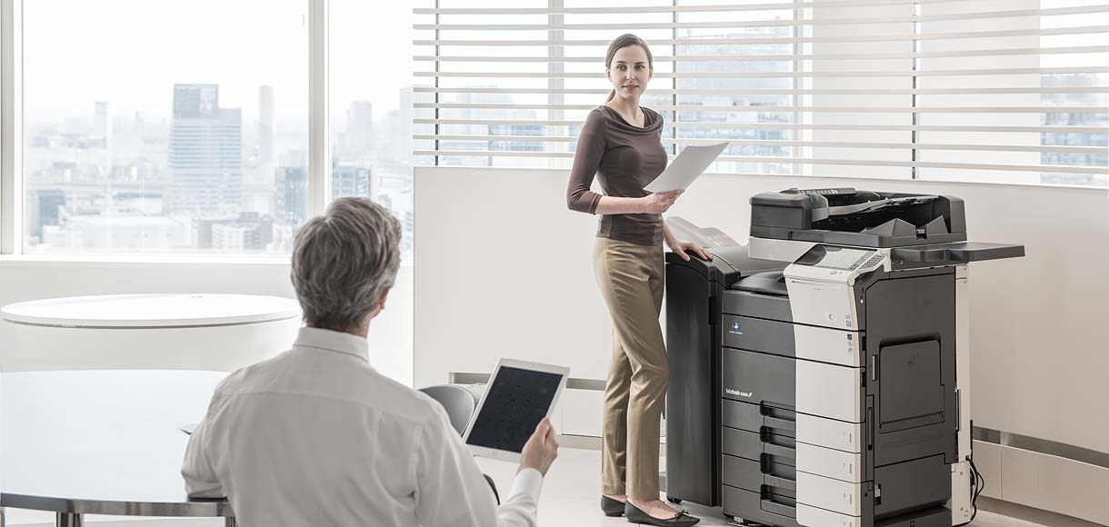 Konica Minolta New Multi-functional Office Copiers and Other Business Solution