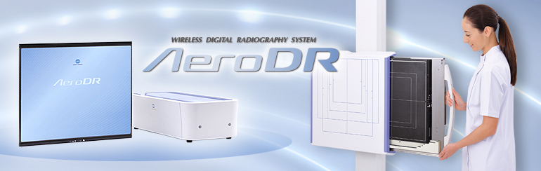 WIRELESS DIGITAL RADIOGRAPHY SYSTEM - Aero DR