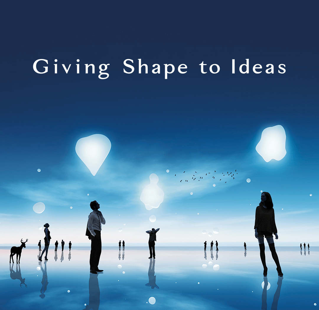 Giving Shape to Ideas
